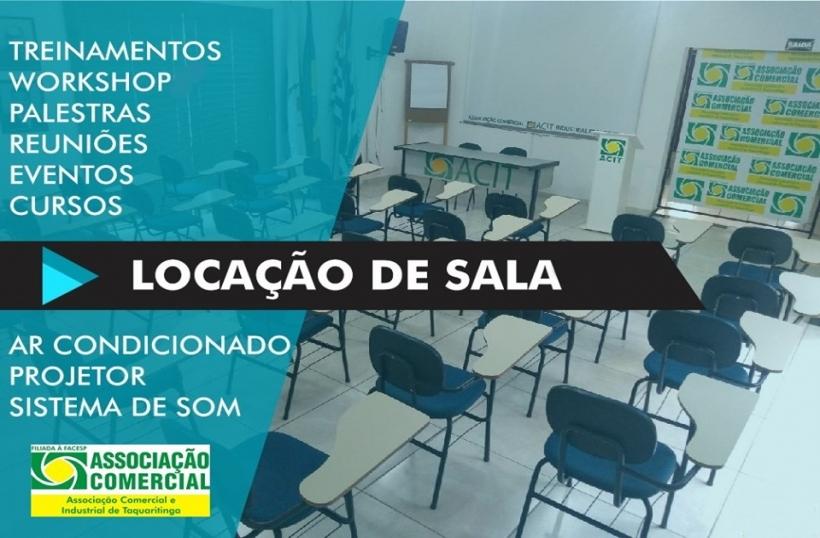 LOCAÇÃO DE SALA