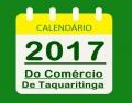 CALENDÁRIO DO COMÉRCIO 2017