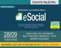 CONVITE PALESTRA E-SOCIAL
