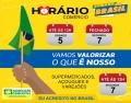 HORÁRIO DE ATENDIMENTO DO COMÉRCIO NOS DIAS 05 e 07 DE SETEMBRO.
